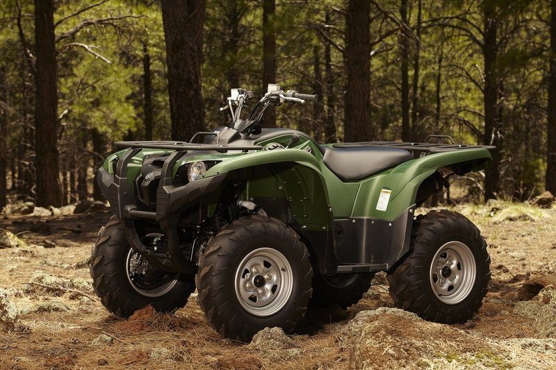 2012 Yamaha Grizzly 700 FI Auto 4x4 EPS High Resolution Exterior - image 421615