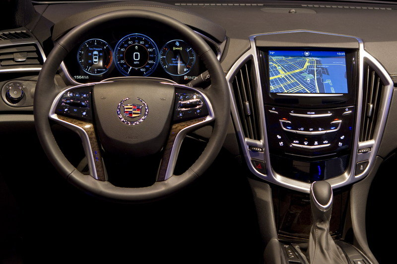 Cadillac's new CUE Infotainment System will make its debut in the 2012 XTS