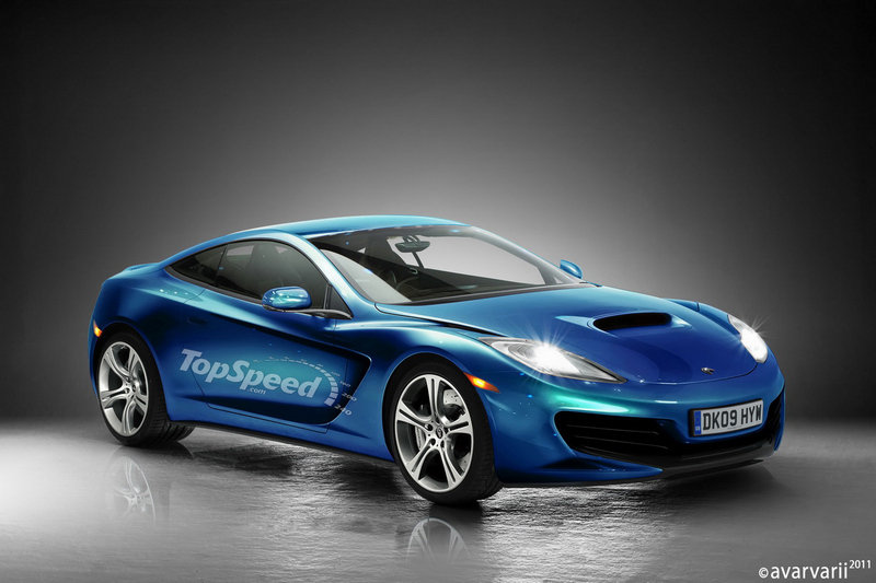 Rendering: Get past the MP4-12C setback and check out our McLaren Special