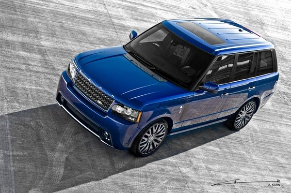 Matte Grey Car >> 2011 Range Rover Bali Blue RS450 Vogue By Kahn Review - Top Speed