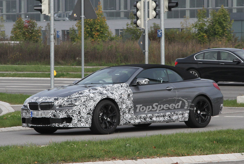Spy Shots: BMW M6 Convertible in its Final Stages