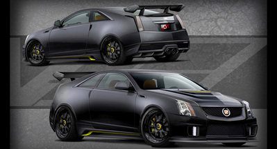2011 Cadillac CTS-V Le Monstre by D3 Group Exterior - image 422570