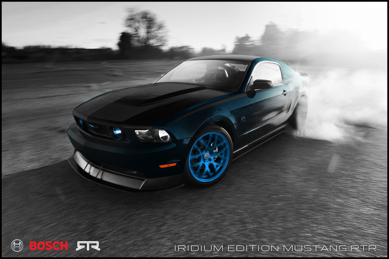 2011 Ford Mustang Bosch Iridium Edition RTR by Vaughn Gittin Jr. and Ice Nine Group