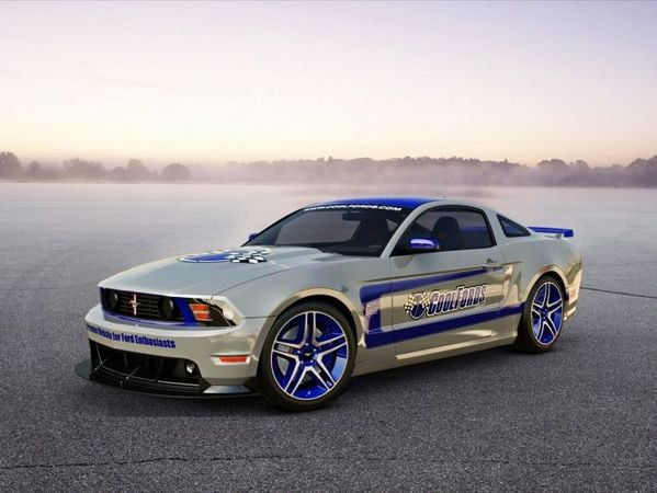 Ford Mustang Boss 302 Laguna Seca 3D Project by CoolFords