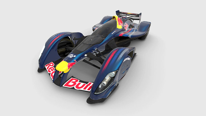 Gran Turismo 5 to feature Red Bull X2010
