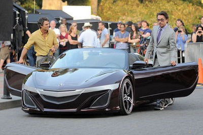 Honda NSX previewed by Acura Supercar Concept