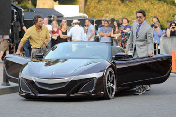 honda nsx previewed by acura supercar concept picture