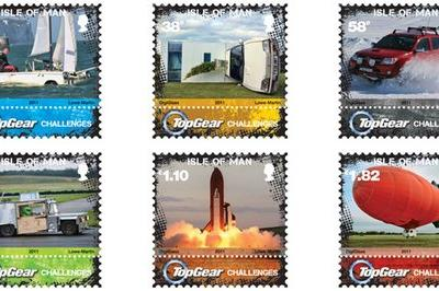 Isle of Man unveils Top Gear postage stamps Products - image 420120