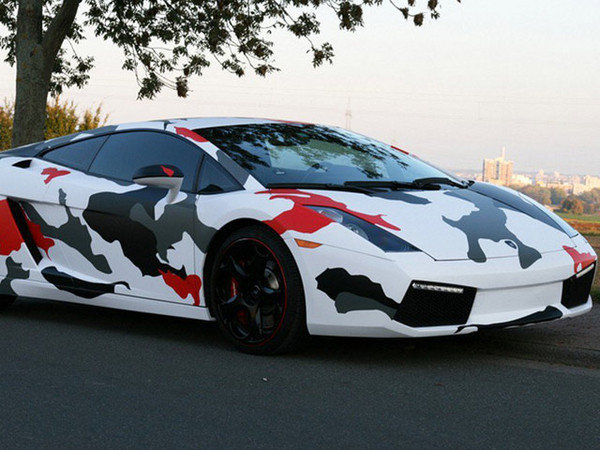 Lamborghini Gallardo Koi Camouflage by Cam Shaft