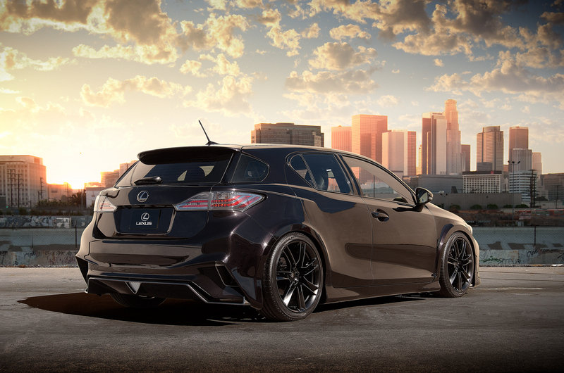 2012 Lexus CT 200h by Five Axis