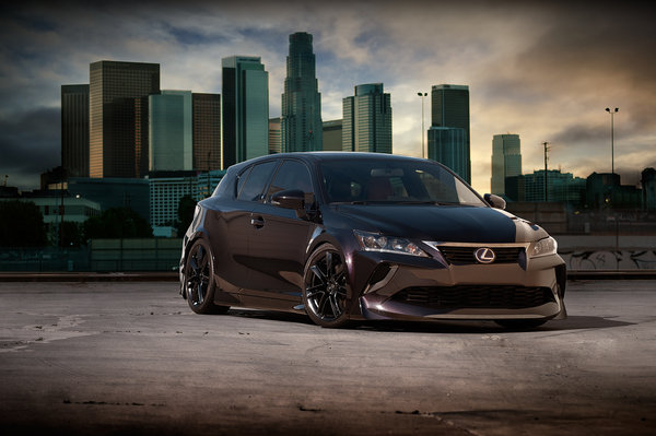 Lexus CT 200h by Five Axis