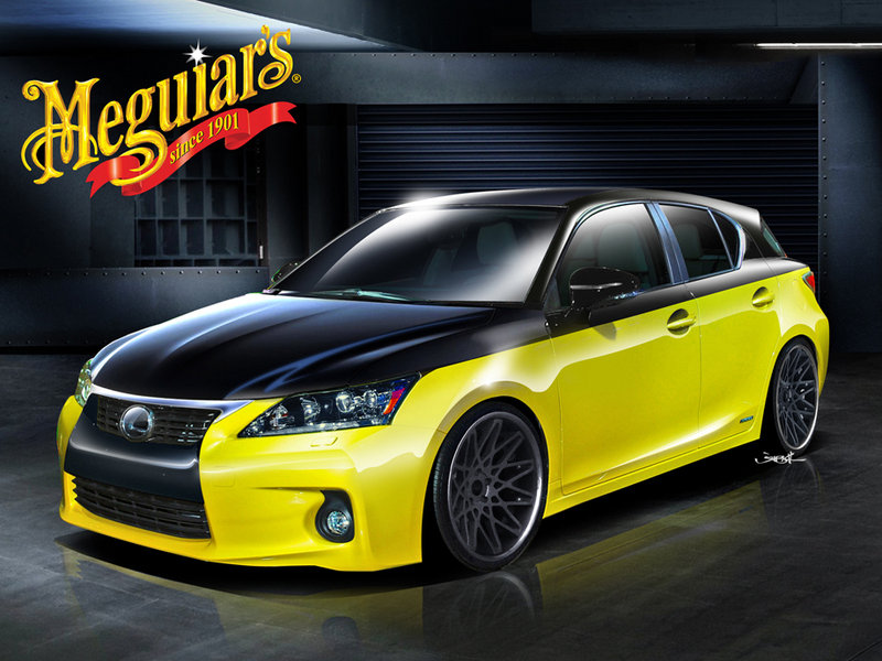 2012 Lexus CT 200h by Meguiars