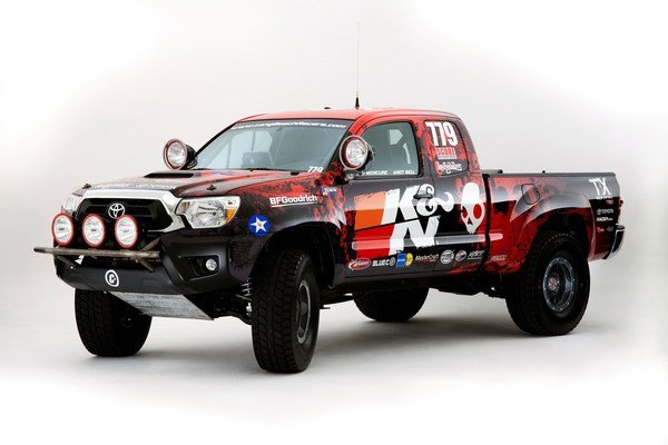 toyota tacoma by long beach racers picture