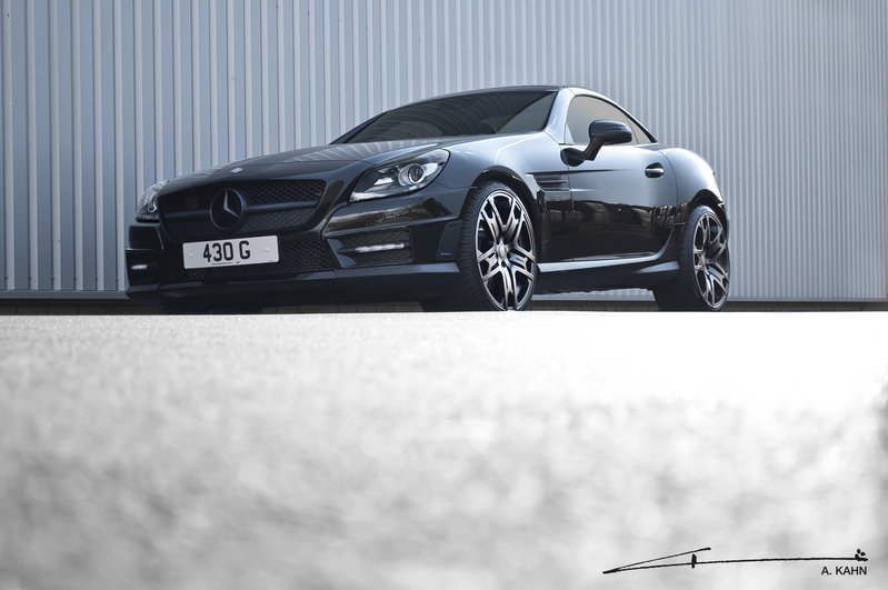 2012 Mercedes Benz SLK 200 Blue Efficiency by Project Kahn
