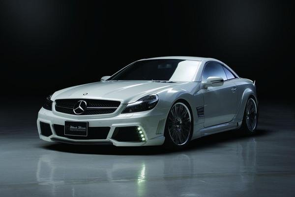 Mercedes SL-Class R230 Black Bison Edition by Wald International