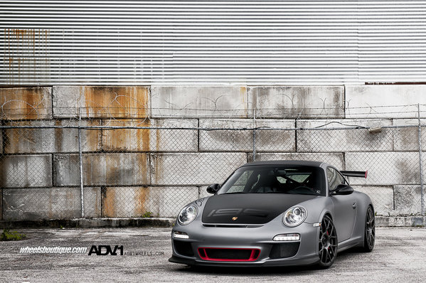 porsche 997 gt3 rs by adv.1 wheels picture