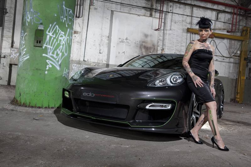 2012 Porsche Panamera S by Edo Competition