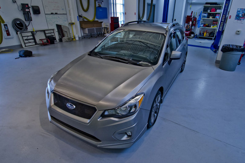 2012 Subaru Impreza Sport 5-Door Accessory Vehicle
