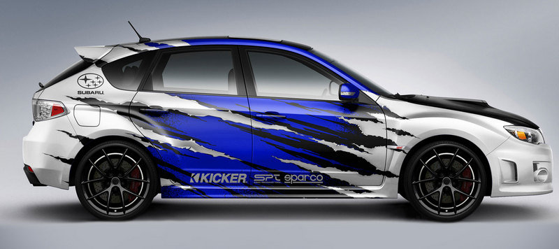 2012 Subaru WRX STI 5-door by KICKER Audio