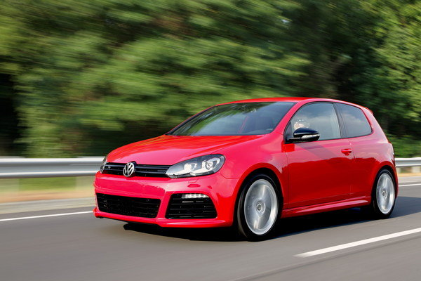 Volkswagen Golf R - US version