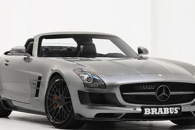 2011 Mercedes SLS AMG Roadster by Brabus