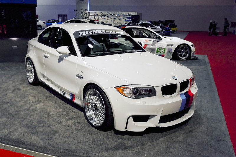 2012 BMW 1-Series M Coupe by H&R Springs