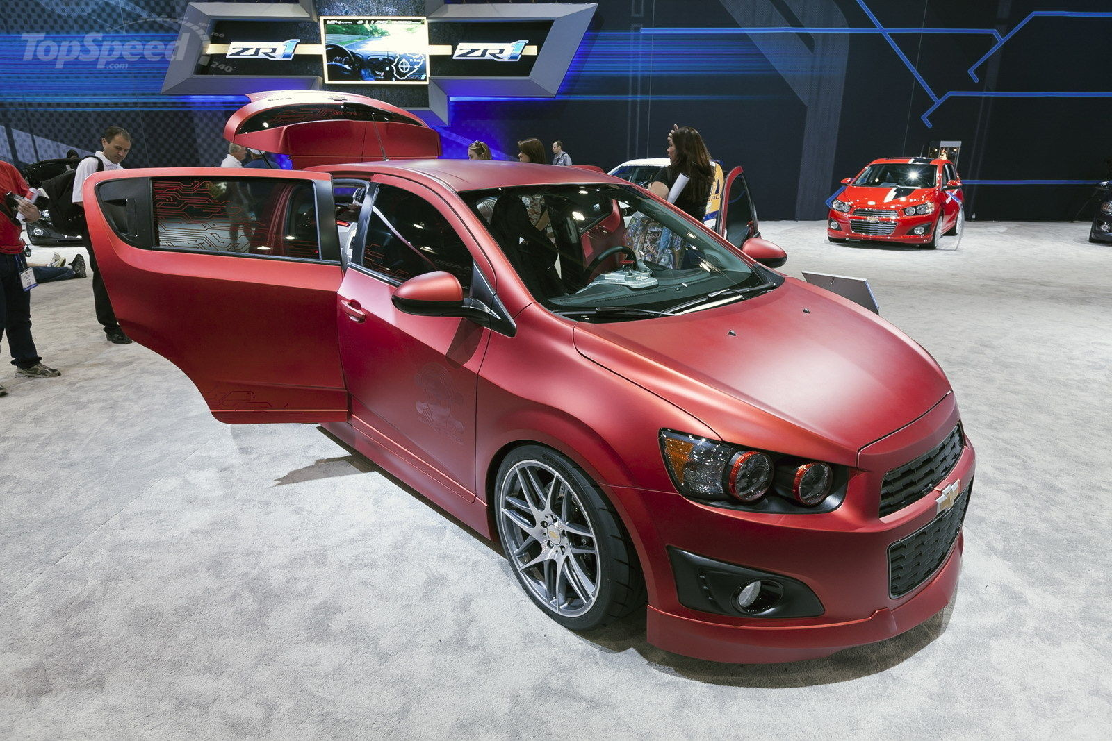 2012 Chevrolet Sonic Boom Concept | Top Speed