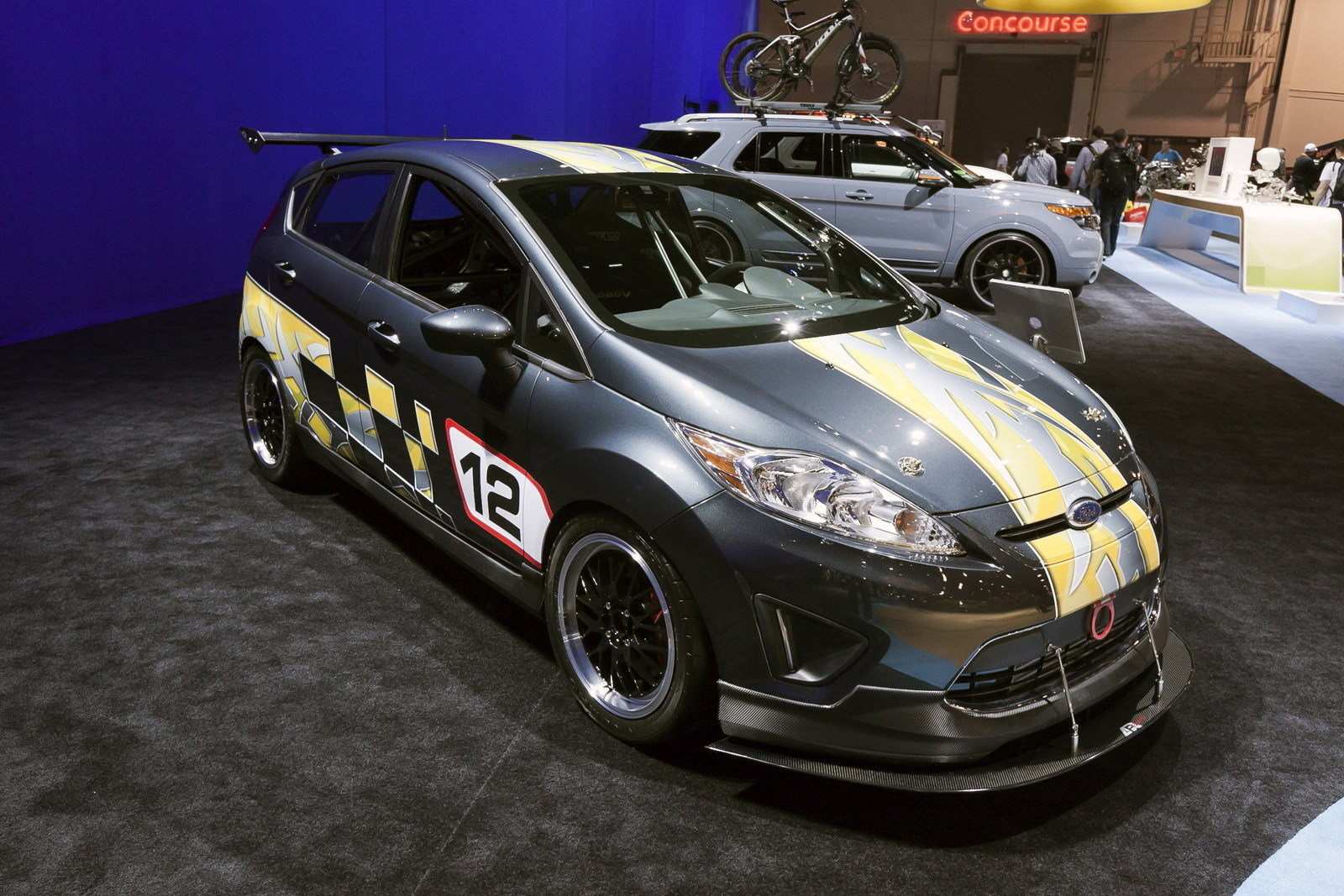 2012 ford fiesta by gold coast automotive top speed. Black Bedroom Furniture Sets. Home Design Ideas