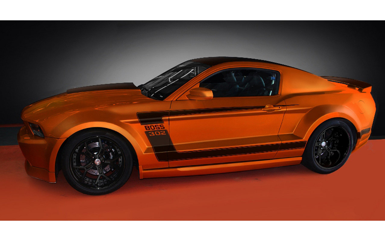 2012 Ford Mustang 'Boss 302-X' By Galpin Auto Sports ...