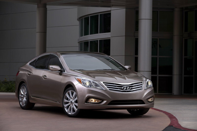 2012 Hyundai Azera High Resolution Exterior - image 426588