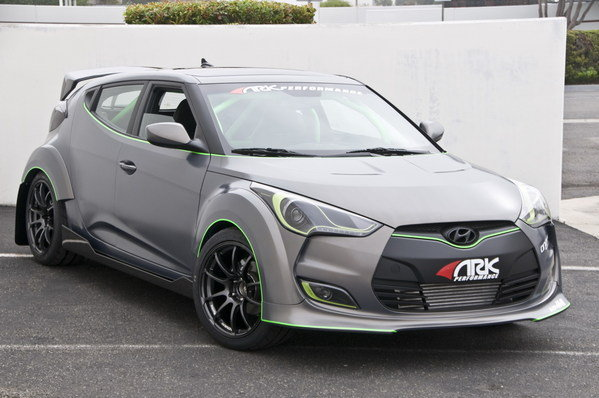 2012 hyundai veloster by ark performance car review top speed. Black Bedroom Furniture Sets. Home Design Ideas