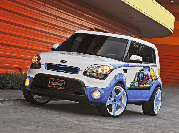 2012 kia soul michelle wie hole in one edition by west. Black Bedroom Furniture Sets. Home Design Ideas