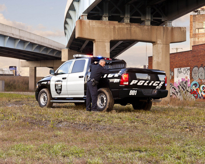 2012 Ram Special Services Police Truck