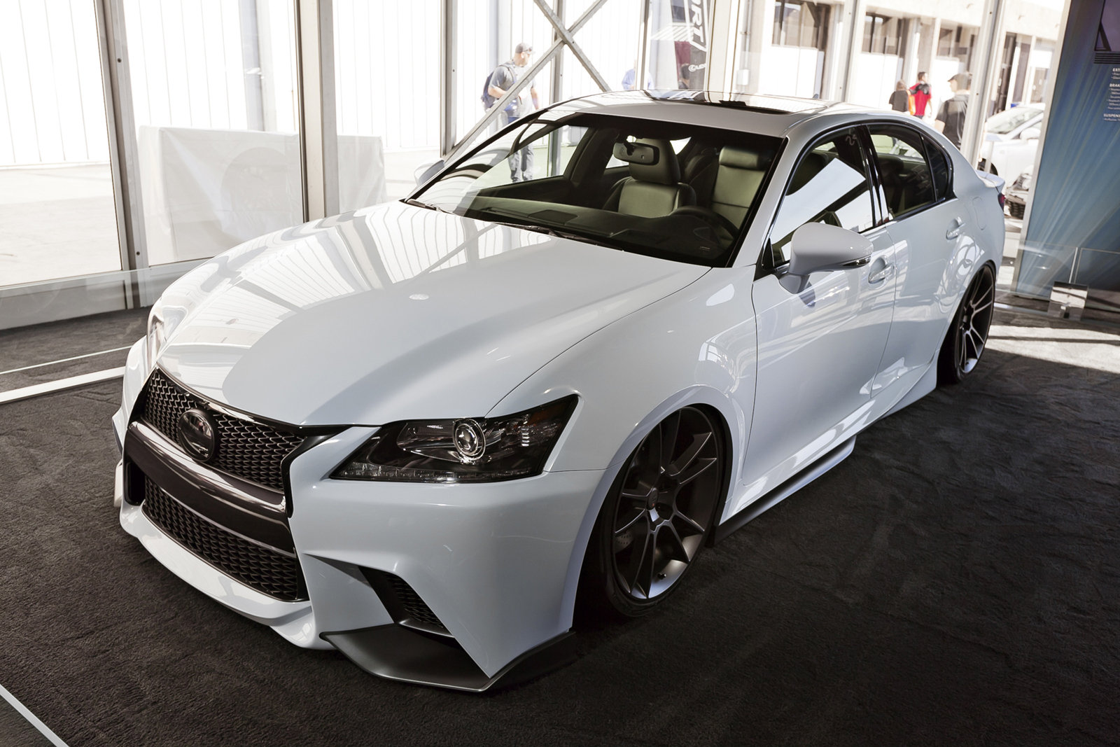 2013 lexus gs f sport by five axis top speed. Black Bedroom Furniture Sets. Home Design Ideas
