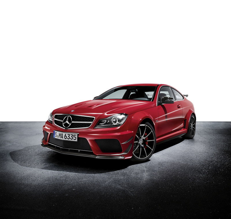Mercedes Benz C63 Black Series: 2013 Mercedes C63 AMG Black Series Coupe Review