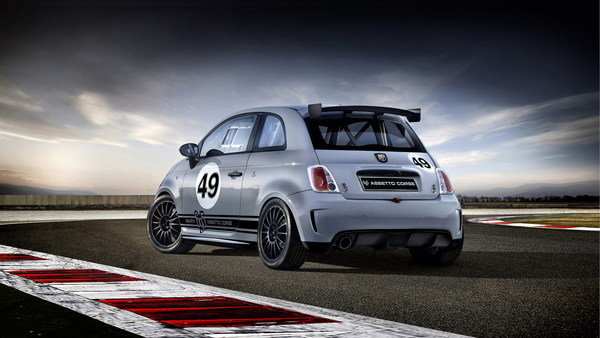 abarth 695 assetto corse picture