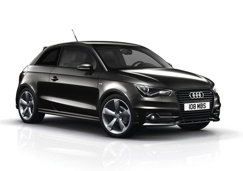 2012 Audi A1 Contrast and Black Edition