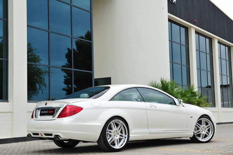 2012 Mercedes CL 800 Coupe by Brabus High Resolution Exterior - image 425277