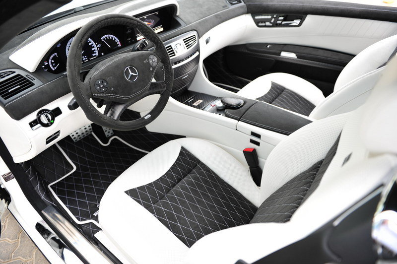 2012 Mercedes CL 800 Coupe by Brabus Interior - image 425279