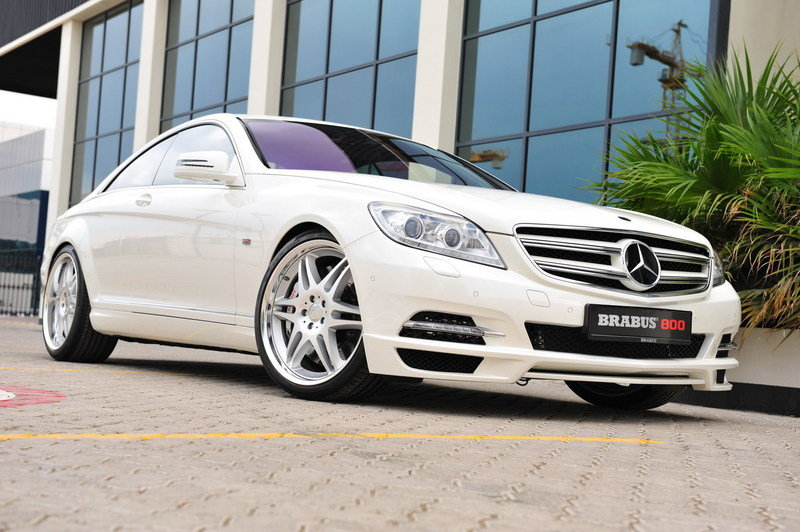 2012 Mercedes CL 800 Coupe by Brabus High Resolution Exterior Wallpaper quality - image 425284