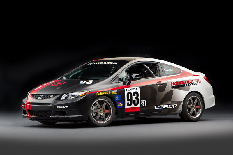 2012 Honda Civic Si Coupe Compass 360 Racing HPD