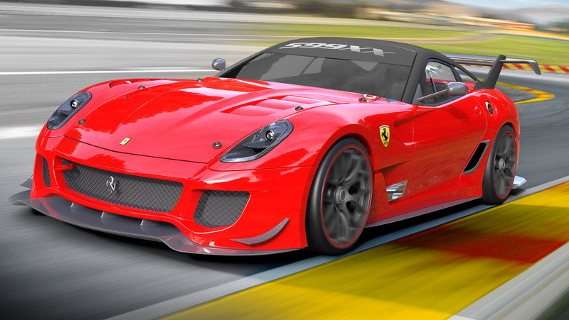 2012 Ferrari 599XX Evolution