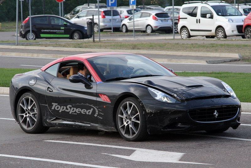More Powerful Ferrari California Spotted: GTO or Scuderia?
