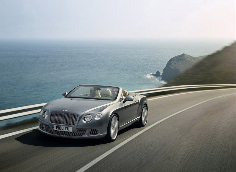 First Bentley Continental GTC auctioned for $325k