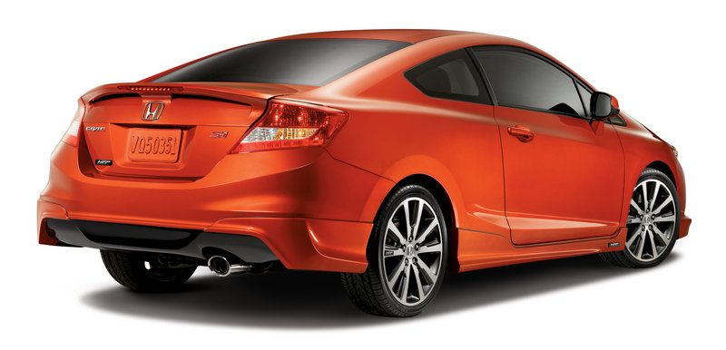 2012 honda civic si coupe by honda factory performance. Black Bedroom Furniture Sets. Home Design Ideas
