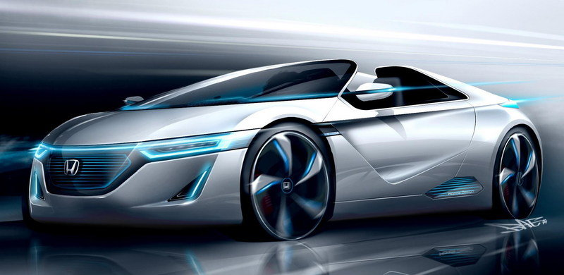 2011 Honda EV-STER Concept Exterior Drawings - image 425235