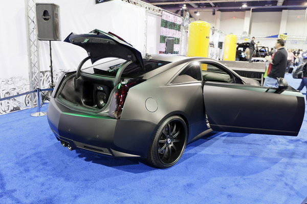 """Cts-V Wagon For Sale >> Justin Bieber's Cadillac CTS-V Coupe """"Batmobile"""" To Be ..."""