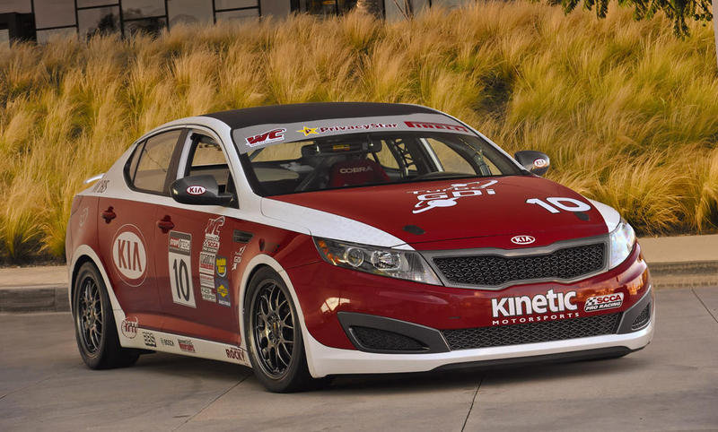 2012 Kia Optima SX World Challenge GTS Race Car