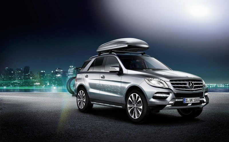 2012 Mercedes ML-Class Accessory Line
