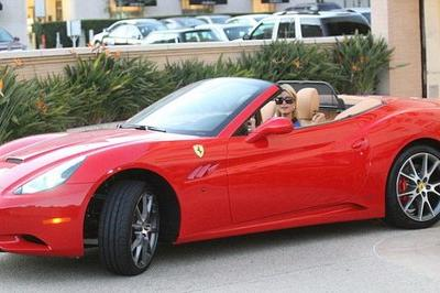 Paris Hilton's Black Friday Purchase: A Red Ferrari California